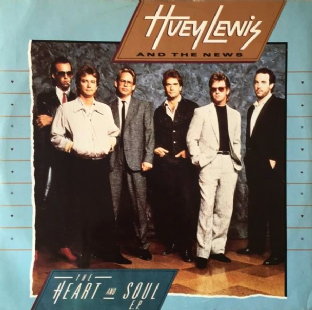 "Huey Lewis And The News - The Heart And Soul EP (12"") (EX/VG+)"